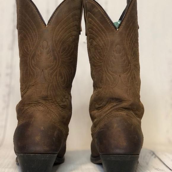 8.5M CORRAL Womens Deer Skull Knee High Western Boots A3620 Brown